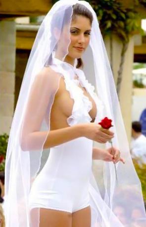 Фото невест в стиле ню