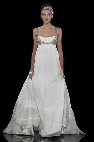 Индивидуальный пошив свадебных платьев в стиле Ампир