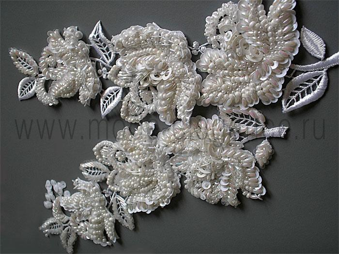 Вышивка одежды бисером и бусинами